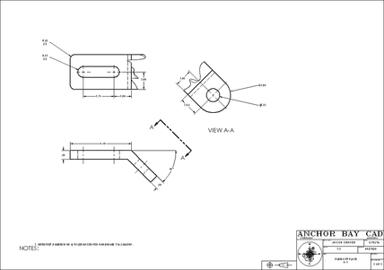 Eed5th 10 besides Segment 8 Supplemental Views also Basic Mechanical Engineering Drawing besides Solidworks Practice also Representation Study Of Different Projections. on auxiliary view orthographic projection